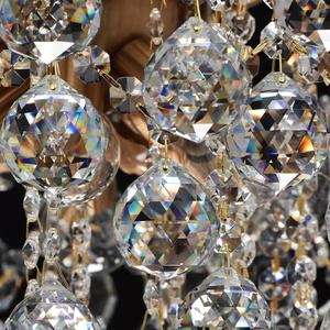 Lampa wisząca Pearl Crystal 8 Mosiądz - 232016808 small 10