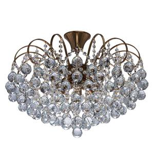 Lampa wisząca Pearl Crystal 8 Mosiądz - 232016808 small 0