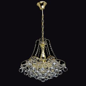 Żyrandol Pearl Crystal 6 Złoty - 232017306 small 1