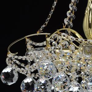 Żyrandol Pearl Crystal 6 Złoty - 232017306 small 5