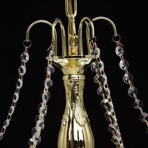 Żyrandol Pearl Crystal 6 Złoty - 232017306 small 7