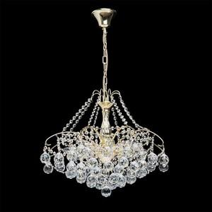 Żyrandol Pearl Crystal 8 Złoty - 232017408 small 2