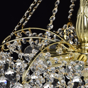 Żyrandol Pearl Crystal 8 Złoty - 232017408 small 9