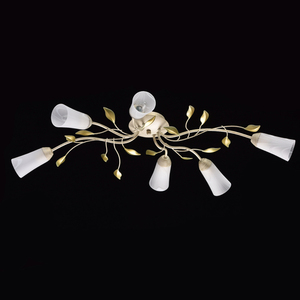 Lampa wisząca Verona Flora 6 Beżowy - 242015306 small 1