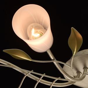 Lampa wisząca Verona Flora 6 Beżowy - 242015306 small 5