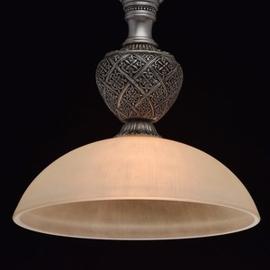 Lampa wisząca Bologna Country 1 Srebrny - 254015201 small 4