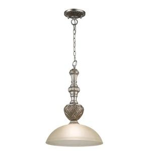 Lampa wisząca Bologna Country 1 Srebrny - 254015201 small 0