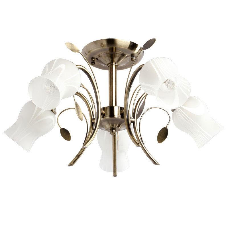 Lampa wisząca Flora Flora 5 Brązowy - 256018205