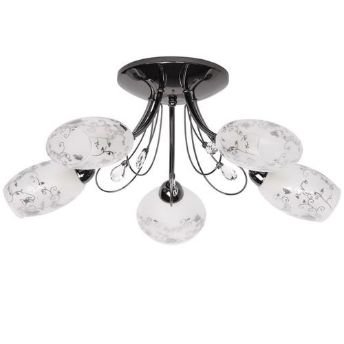 Lampa sufitowa Sabrina Megapolis 5 Szary - 267013505