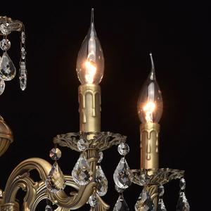 Żyrandol Candle Classic 5 Mosiądz - 301017605 small 4