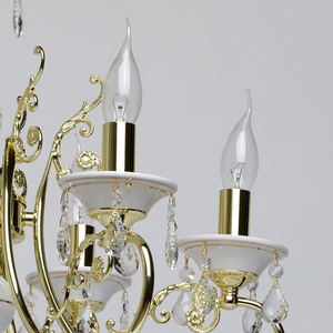 Żyrandol Candle Classic 6 Złoty - 301018106 small 2