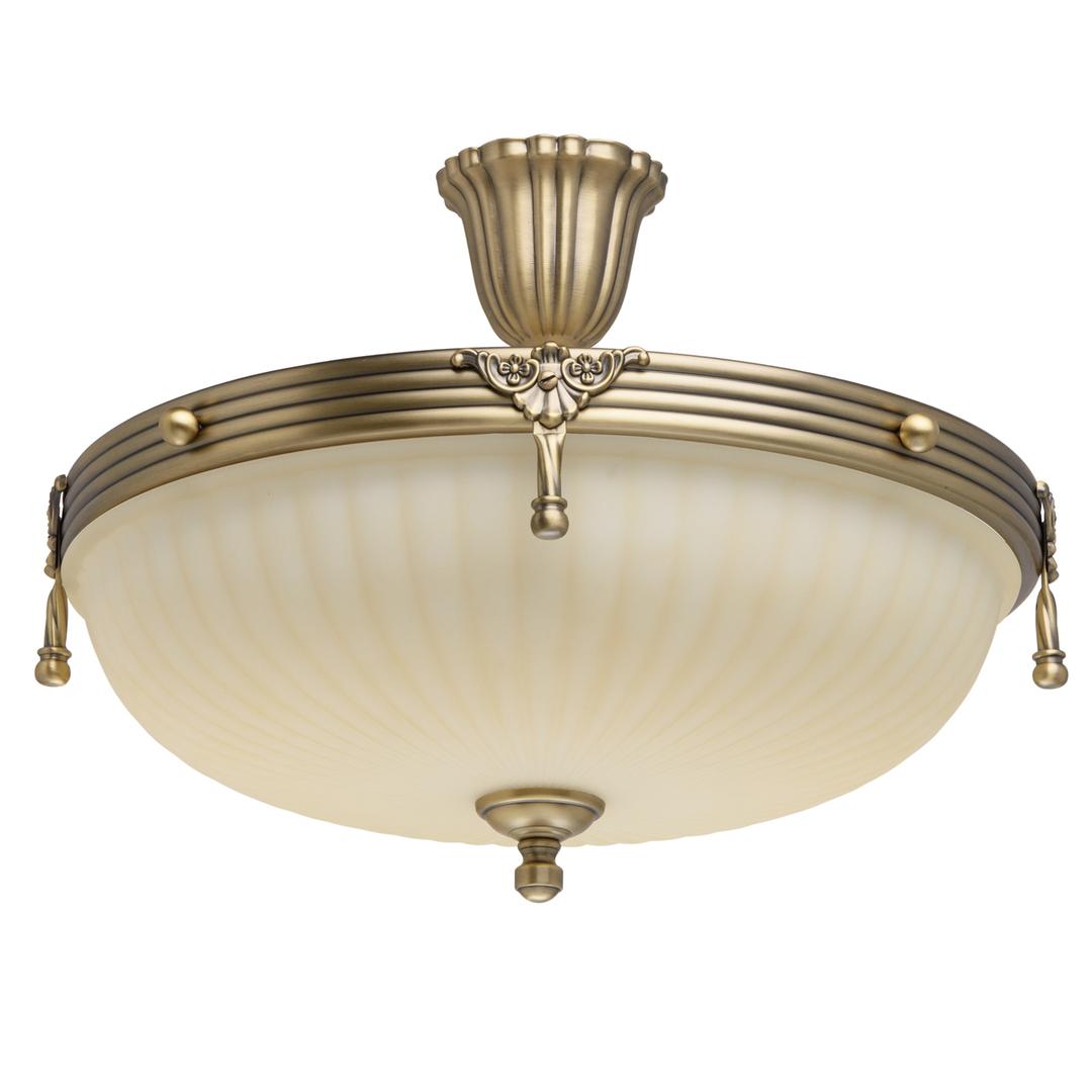 Lampa wisząca Aphrodite Classic 4 Mosiądz - 317011504