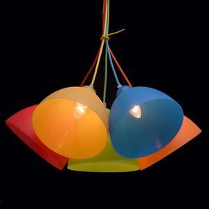 Lampa wisząca Smile Kinder 5 Chrom - 365014505 small 5