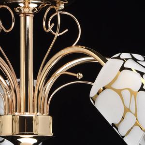 Lampa wisząca Olympia Megapolis 5 Złoty - 638010105 small 7