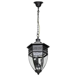 Zewnętrzna lampa wisząca Corso Street 3 Mosiądz - 801010403 small 0