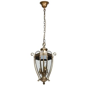 Lampa wisząca Corso Street 3 Mosiądz - 802010703 small 0