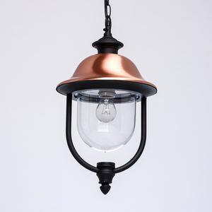 Zewnętrzna lampa wisząca Dubai Street 1 Czarny - 805010401 small 2