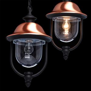 Zewnętrzna lampa wisząca Dubai Street 1 Czarny - 805010401 small 9