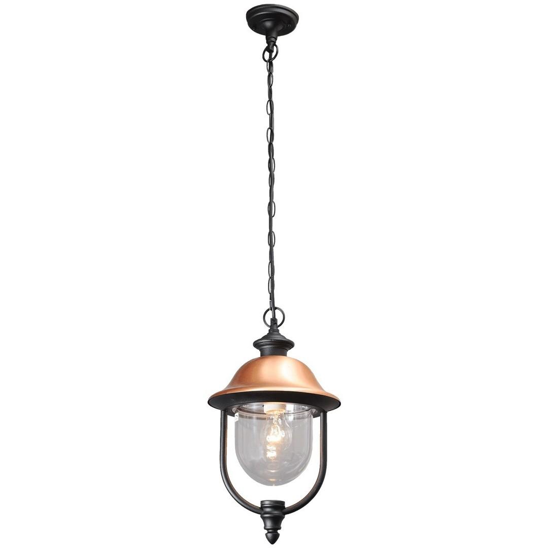 Zewnętrzna lampa wisząca Dubai Street 1 Czarny - 805010401