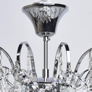 Lampa wisząca Pearl Crystal 6 Chrom - 232017506 small 4