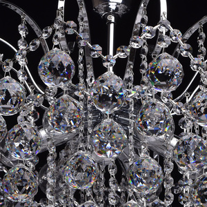 Lampa wisząca Pearl Crystal 6 Chrom - 232017506 small 8