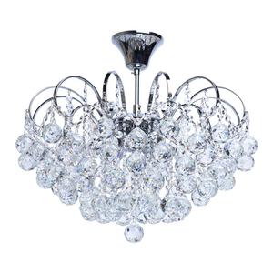 Lampa wisząca Pearl Crystal 6 Chrom - 232017506 small 0