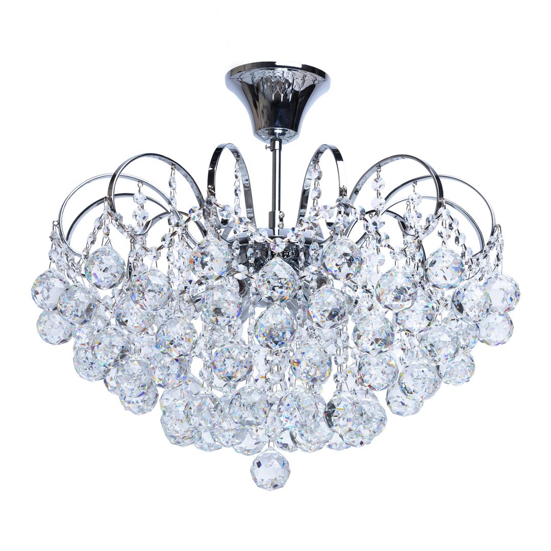 Lampa wisząca Pearl Crystal 6 Chrom - 232017506