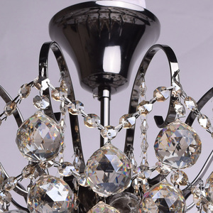 Lampa wisząca Pearl Crystal 6 Szary - 232017706 small 4