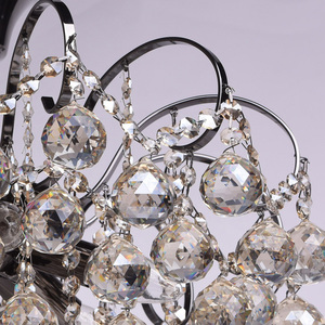 Lampa wisząca Pearl Crystal 6 Szary - 232017706 small 5