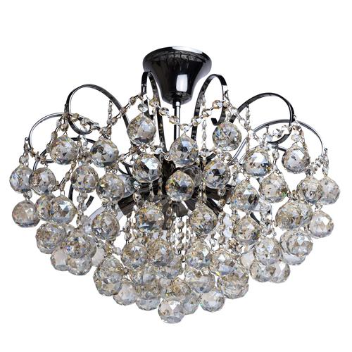 Lampa wisząca Pearl Crystal 6 Szary - 232017706