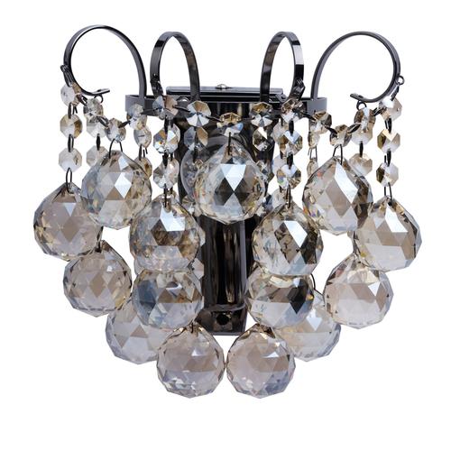 Kinkiet Pearl Crystal 1 Szary - 232028001