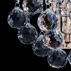 Kinkiet Pearl Crystal 1 Złoty - 232028101 small 5