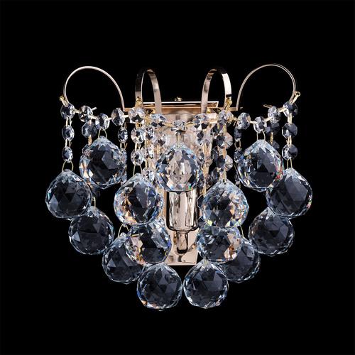 Kinkiet Pearl Crystal 1 Złoty - 232028101
