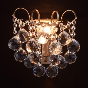 Kinkiet Pearl Crystal 1 Mosiądz - 232028201 small 1