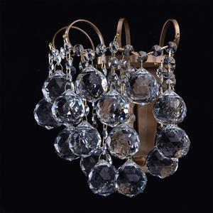 Kinkiet Pearl Crystal 1 Mosiądz - 232028201 small 3
