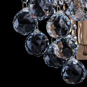 Kinkiet Pearl Crystal 1 Mosiądz - 232028201 small 4