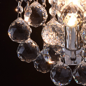 Kinkiet Pearl Crystal 1 Chrom - 232028301 small 3