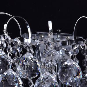 Kinkiet Pearl Crystal 1 Chrom - 232028301 small 4
