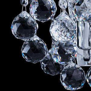 Kinkiet Pearl Crystal 1 Chrom - 232028301 small 5