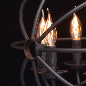 Lampa wisząca Castle Country 6 Czarny - 249017306 small 4