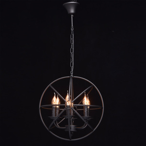 Lampa wisząca Castle Country 6 Czarny - 249017306 small 10