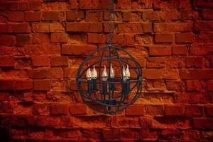 Lampa wisząca Castle Country 6 Czarny - 249017306 small 12