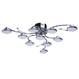 Lampa wisząca Nancy Hi-Tech 10 Chrom - 308010910 small 0