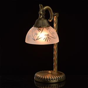 Lampa Stołowa Aphrodite Classic 1 Mosiądz - 317032301 small 1