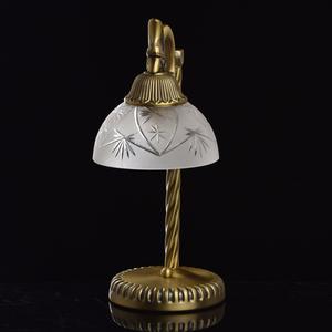 Lampa Stołowa Aphrodite Classic 1 Mosiądz - 317032301 small 2