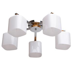 Lampa wisząca Nicole Megapolis 5 Chrom - 364013605 small 0