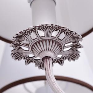 Lampa wisząca Augustina Elegance 6 Biały - 419011006 small 2