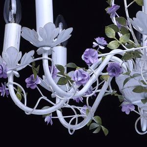 Żyrandol Provence Flora 8 Biały - 421014308 small 7