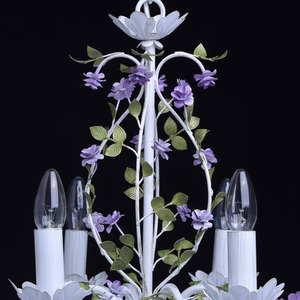 Żyrandol Provence Flora 8 Biały - 421014308 small 9