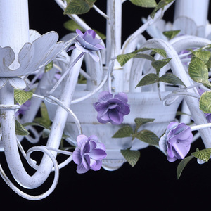 Żyrandol Provence Flora 8 Biały - 421014308 small 10